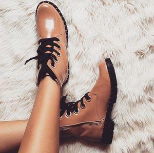 Shoes - 🆕️//The Harper// Mauve studded combat boot